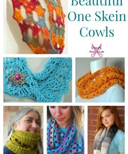 10 Beautiful One Skein Cowl crochet patterns | CraftCoalition.com
