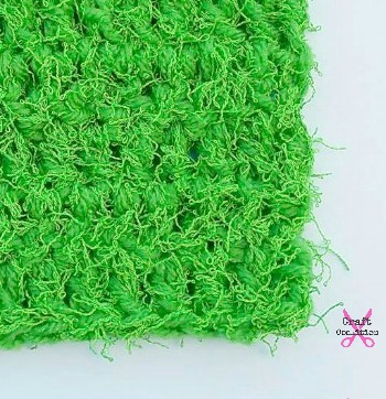 Scruffy Square Scrubber by Celina Lane on Craft Coalition pin it!