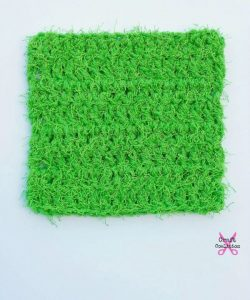 Scruffy Square Scrubber by Celina Lane on Craft Coalition