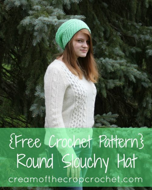 16 Pretty One Skein Hat crochet patterns on CraftCoalition.com