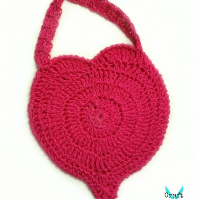Perfect Love Heart Purse crochet pattern