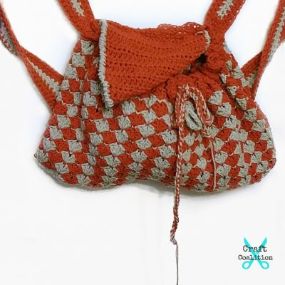 Pier Picnic Backpack crochet pattern
