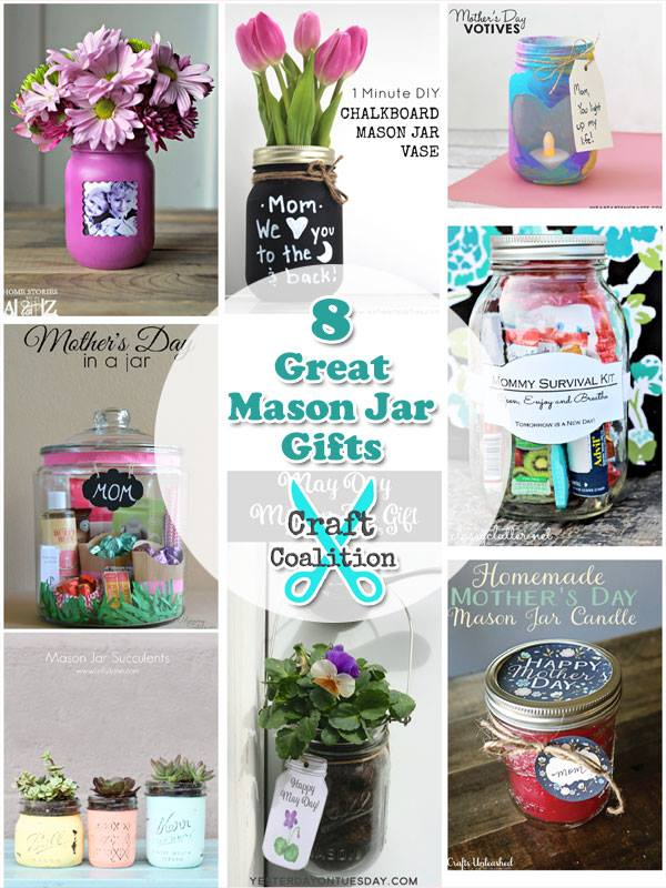 8 Great Mason Jar Gifts | Craft Coalition